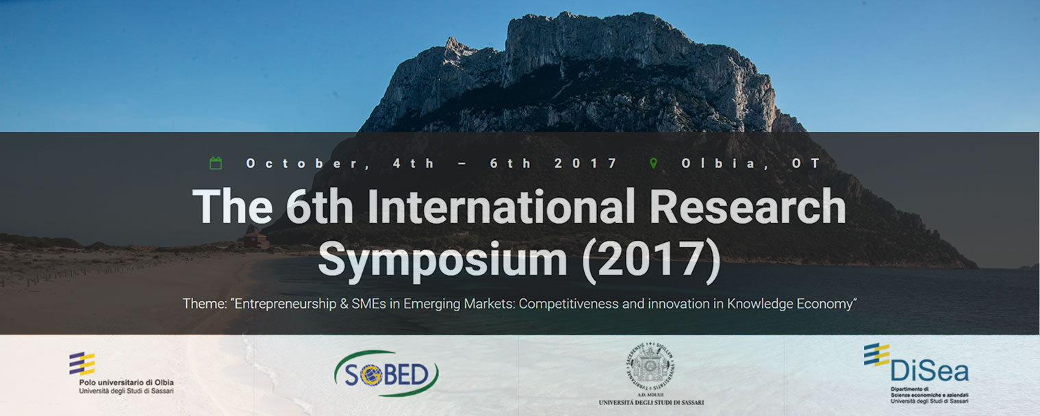 The 6th International Research Symposium (2017)